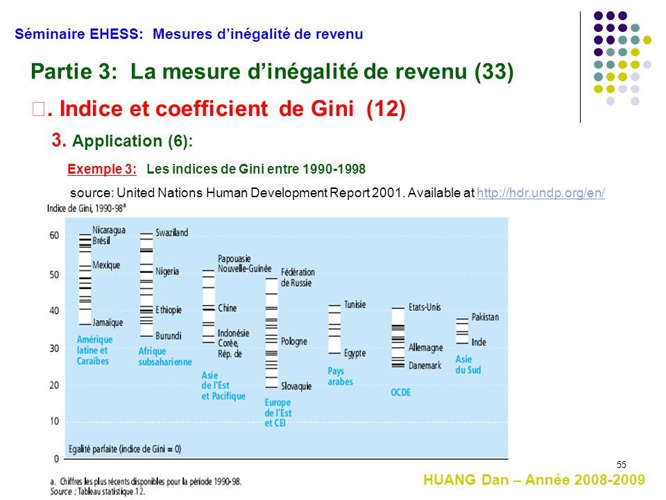 Partie 3: La mesure d'inégalité de revenu (33)