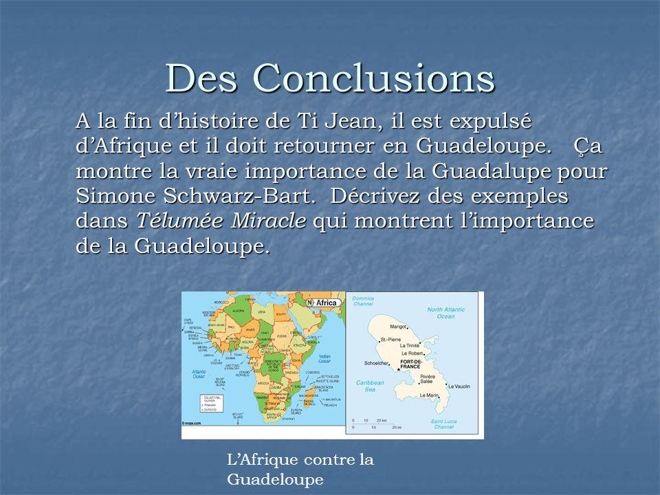 Des Conclusions