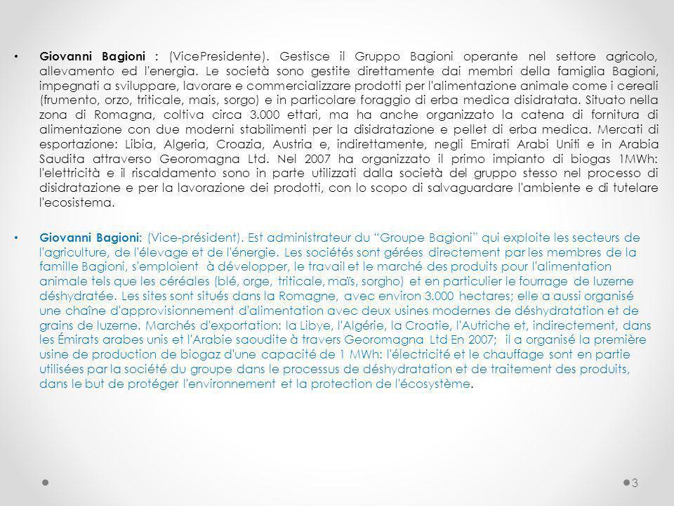 Giovanni Bagioni : (VicePresidente)