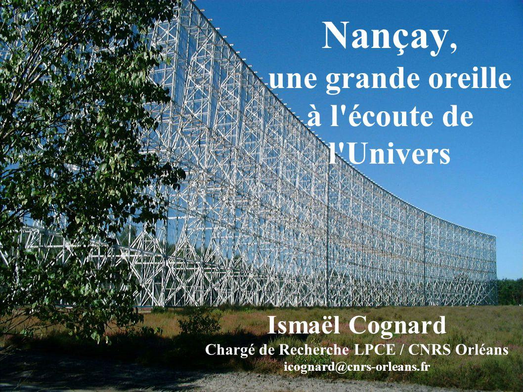 Chargé de Recherche LPCE / CNRS Orléans