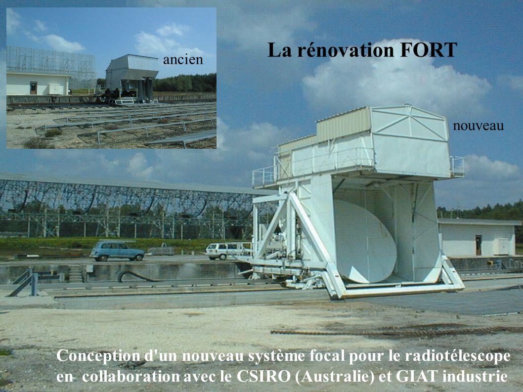 La rénovation FORT ancien. nouveau. Conception d un nouveau système focal pour le radiotélescope.