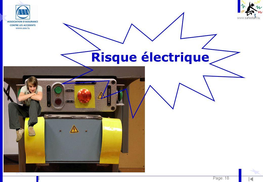 Risque électrique Page: 18