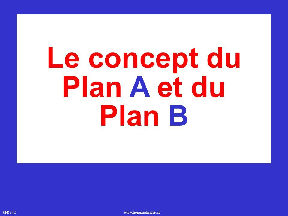 Le concept du Plan A et du