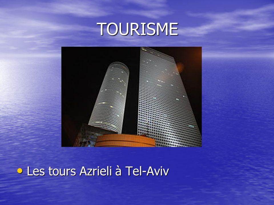 TOURISME Les tours Azrieli à Tel-Aviv