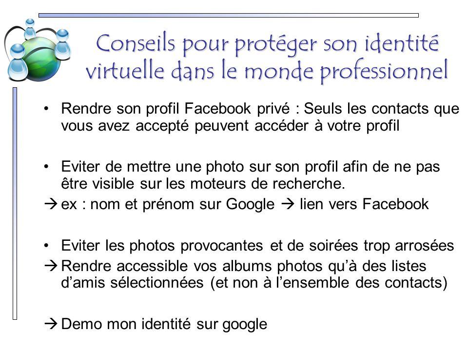 Conseils pour protéger son identité virtuelle dans le monde professionnel