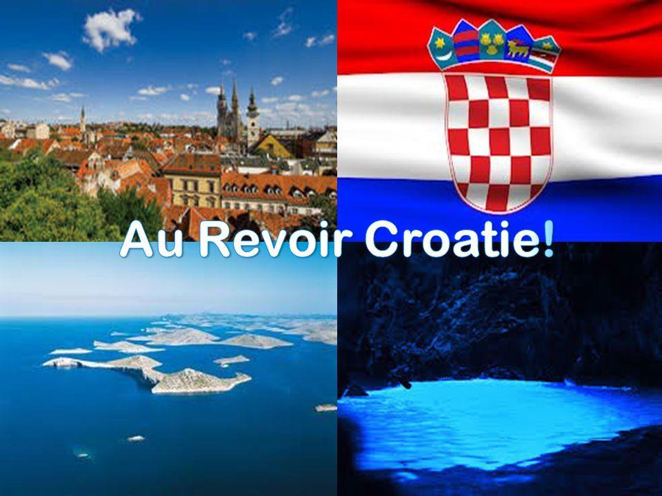 Au Revoir Croatie!