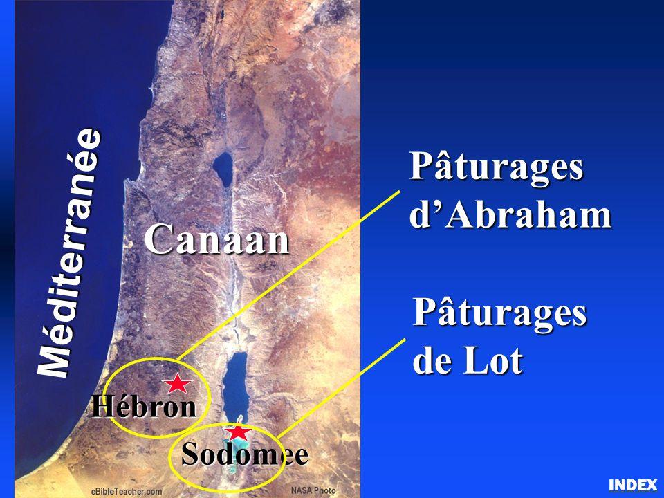Abraham au pays de Canaan