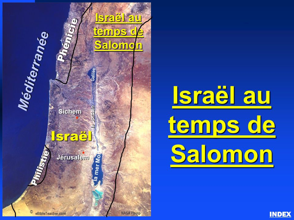Israël au temps de Salomon