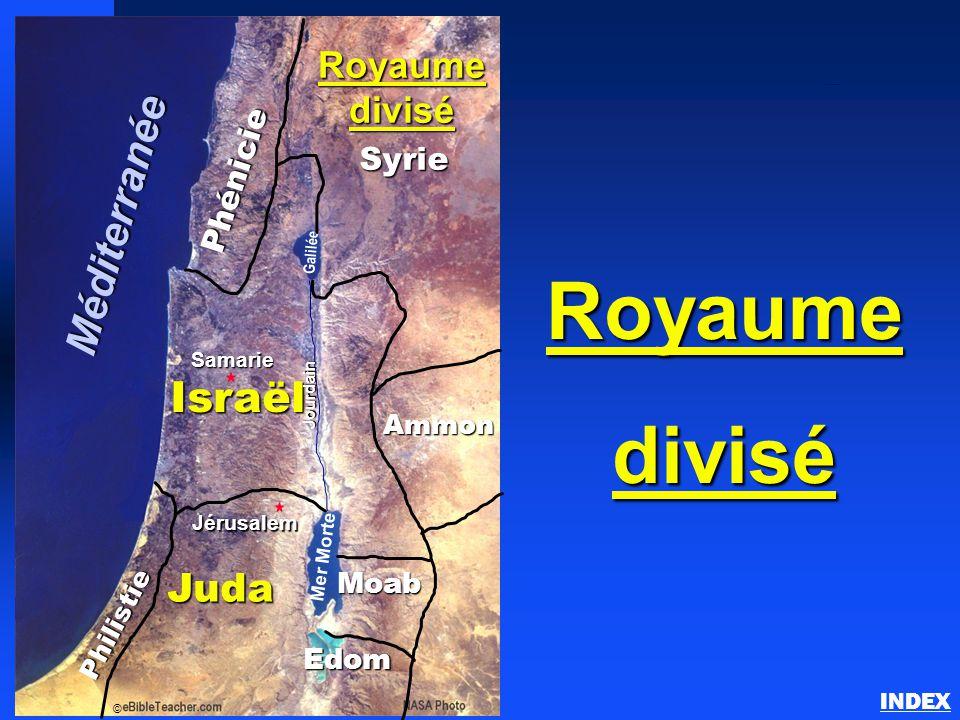 Le royaume divisé d'Israël