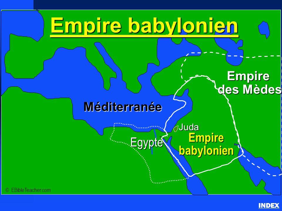 Empire babylonien des Mèdes Méditerranée Empire Egypte babylonien Juda
