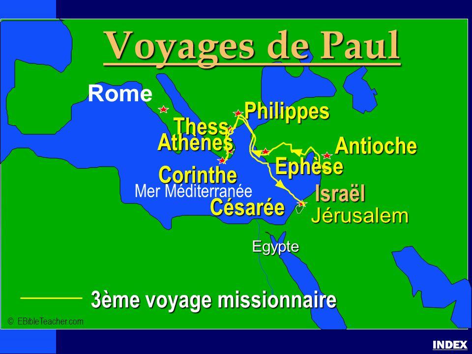 Paul-3ème voyage missionnaire