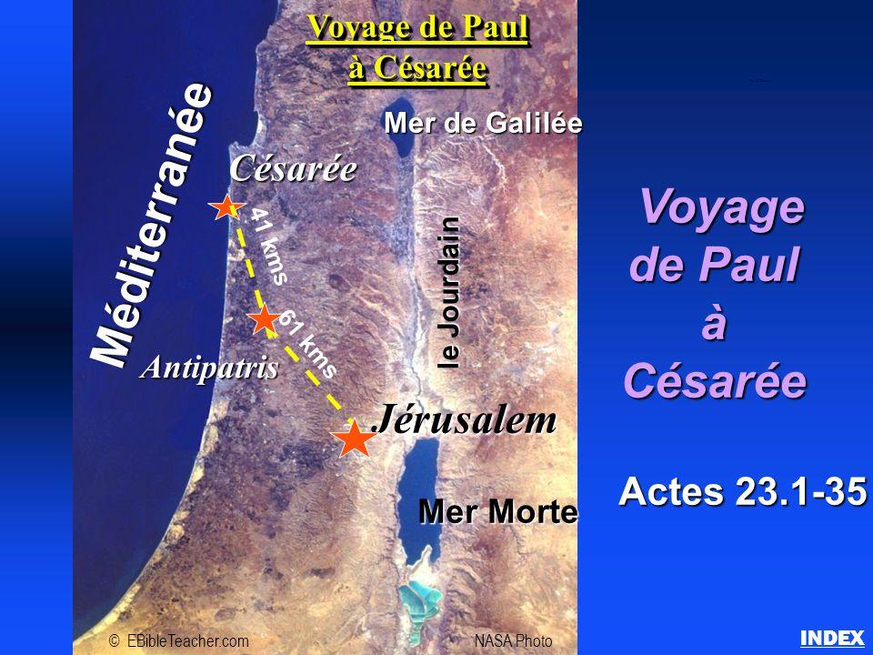 Voyage de Paul à Césarée