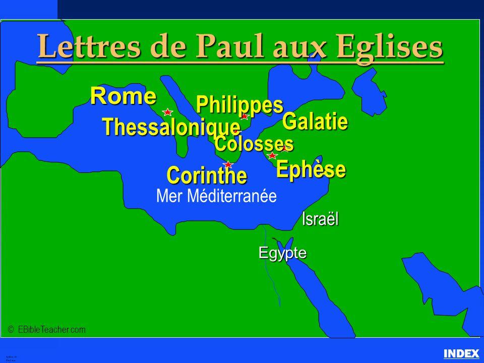 Epîtres de Paul aux Eglises