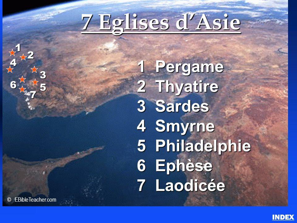 7 Eglises d'Asie (Apocalypse)