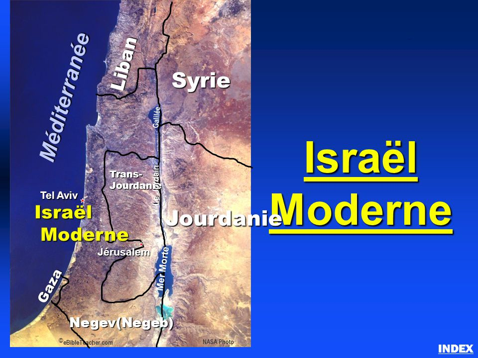 Israël Moderne Méditerranée Syrie Liban Israël Moderne Gaza
