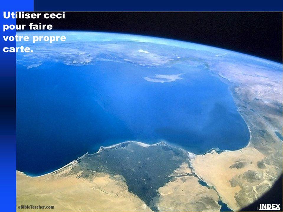 Sinaï/Egypte carte vierge