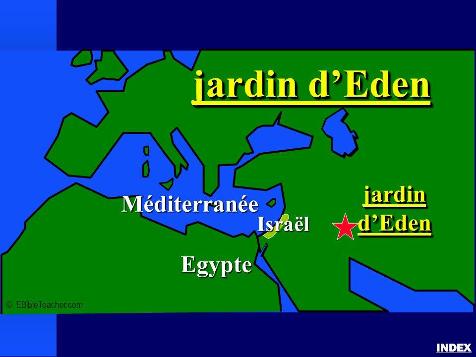 jardin d'Eden jardin Méditerranée d'Eden Egypte Israël INDEX
