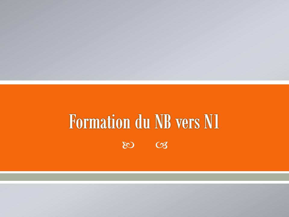 Formation du NB vers N1