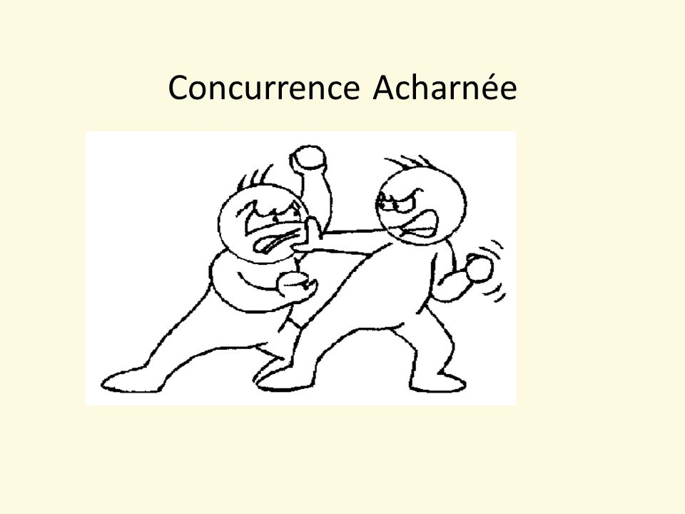 Concurrence Acharnée