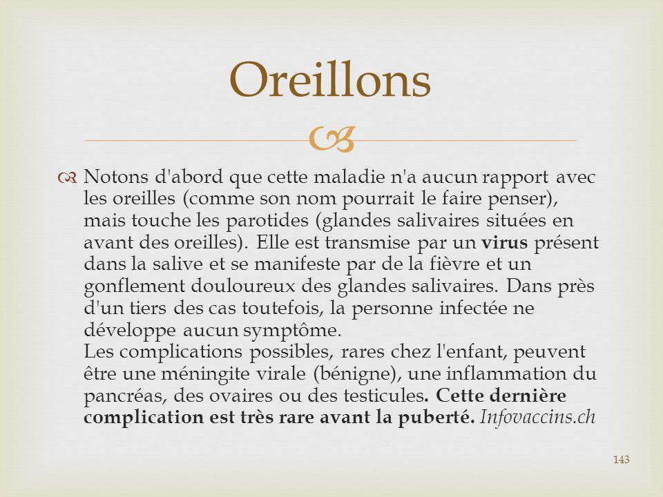 Oreillons