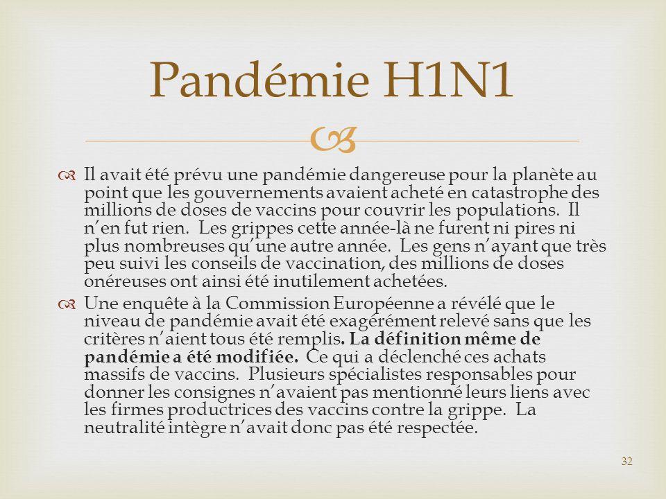 Pandémie H1N1