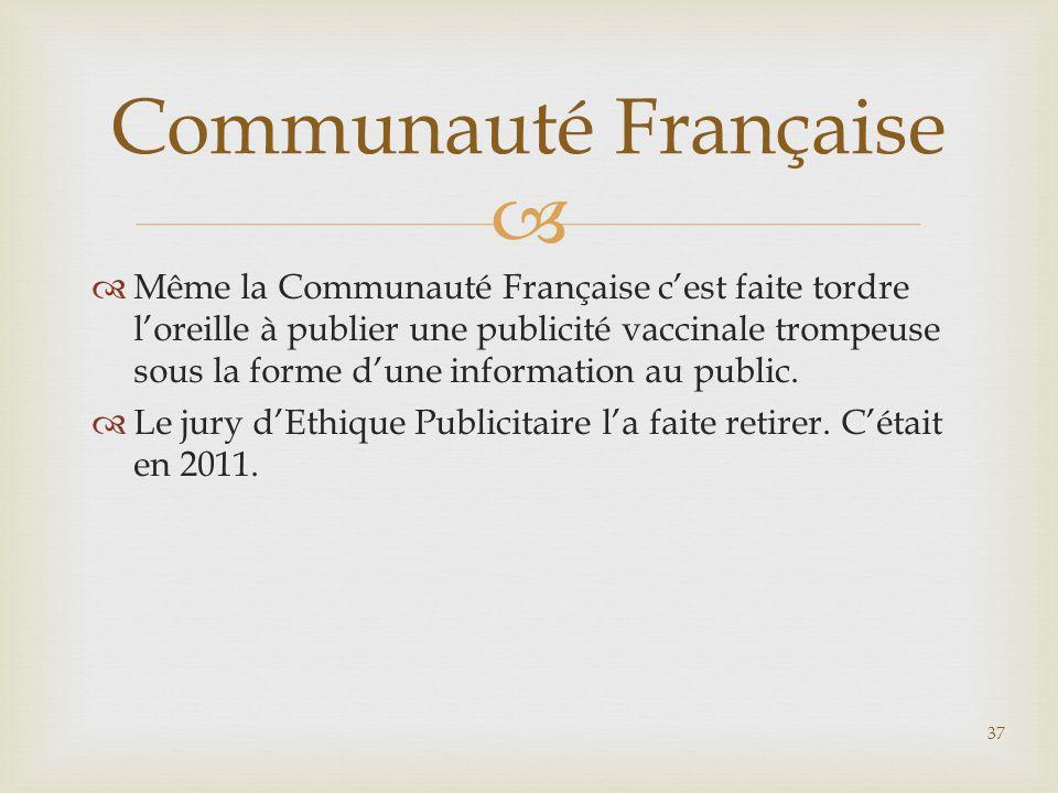 Communauté Française