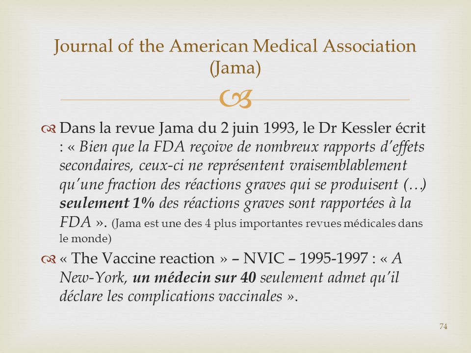 Journal of the American Medical Association (Jama)