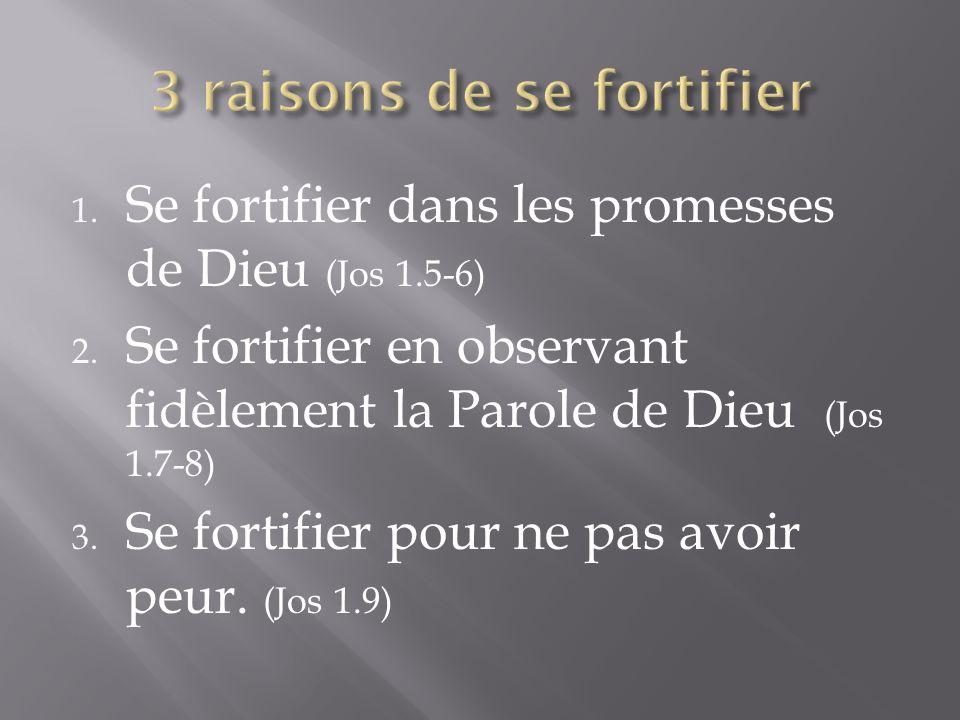 3 raisons de se fortifier