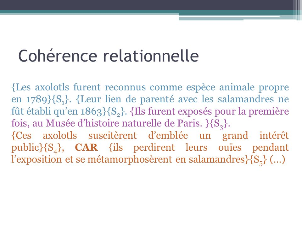 Cohérence relationnelle