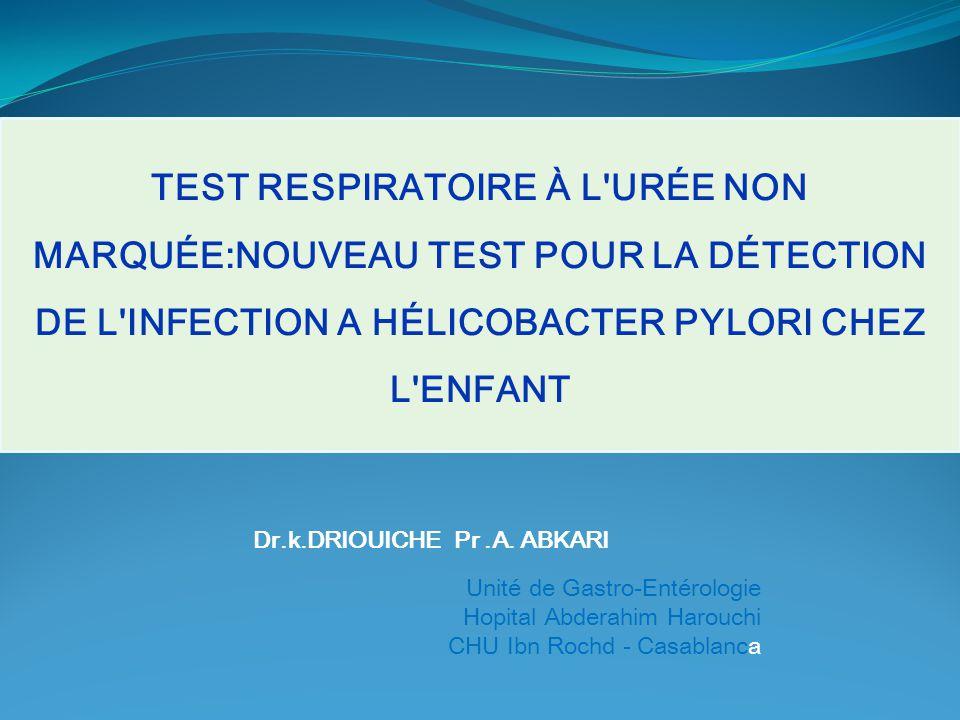 Dr.k.DRIOUICHE Pr .A. ABKARI