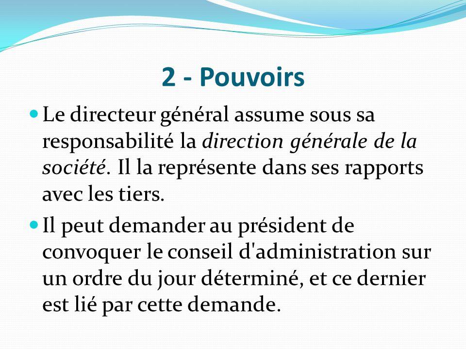 2 - Pouvoirs
