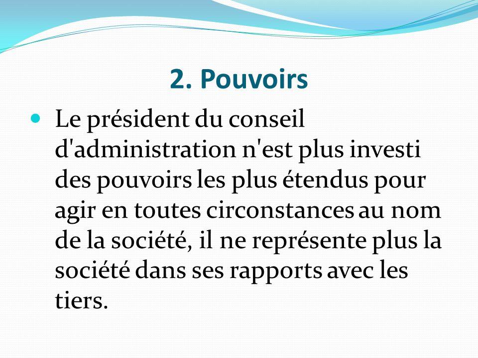 2. Pouvoirs