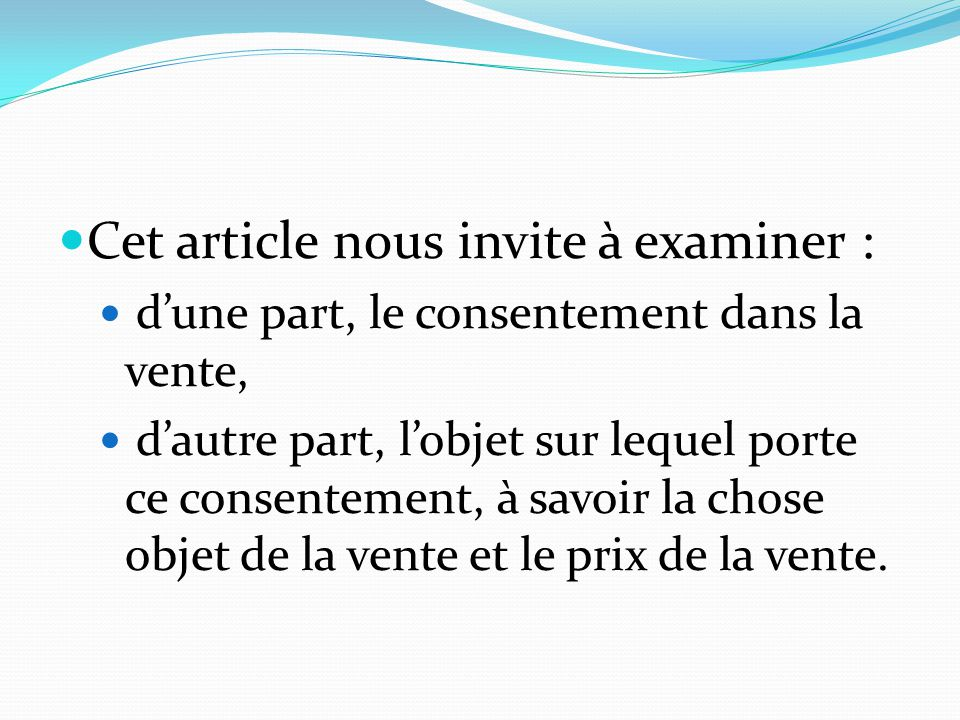 Cet article nous invite à examiner :