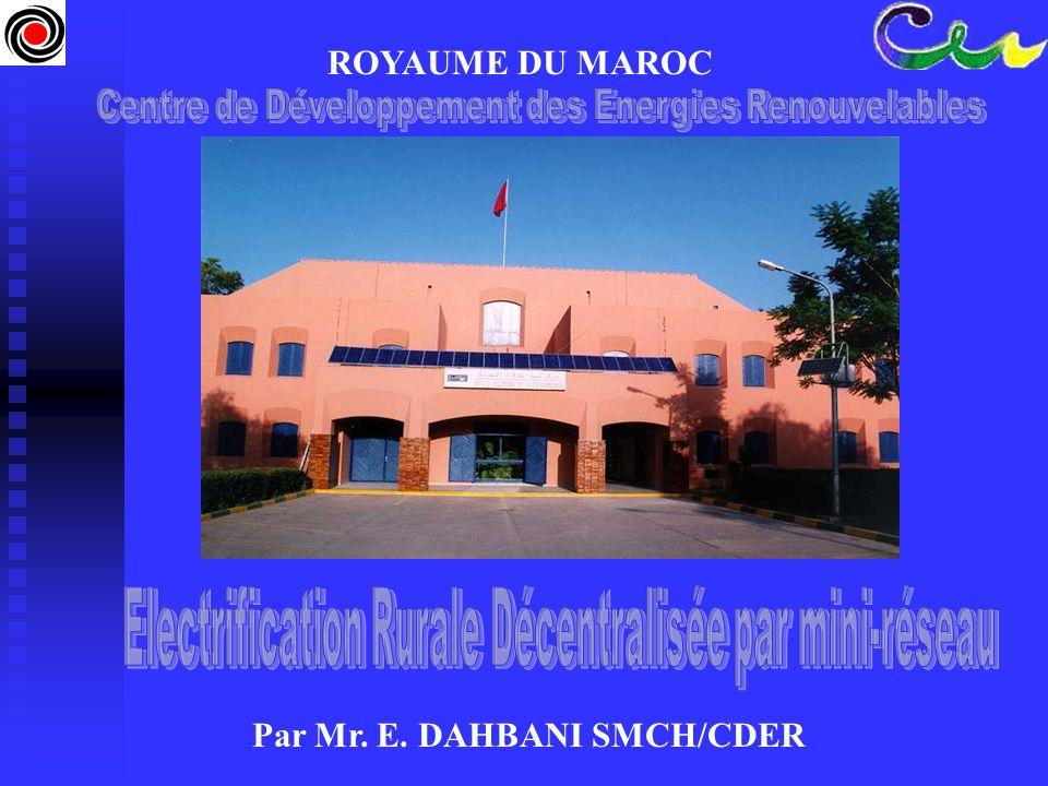 Par Mr. E. DAHBANI SMCH/CDER
