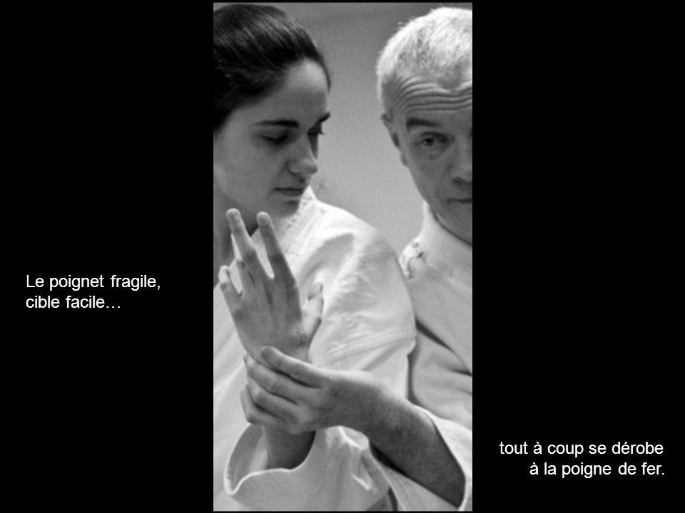 Le poignet fragile, cible facile…