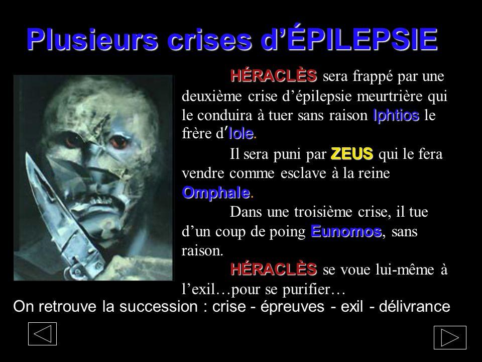 Plusieurs crises d'ÉPILEPSIE