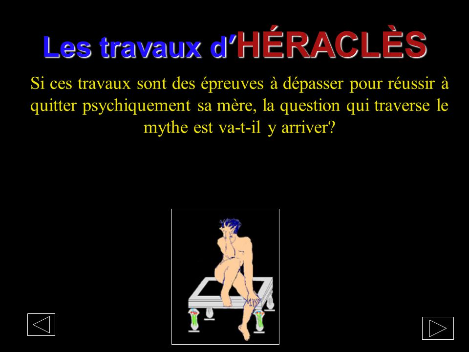 Les travaux d'HÉRACLÈS
