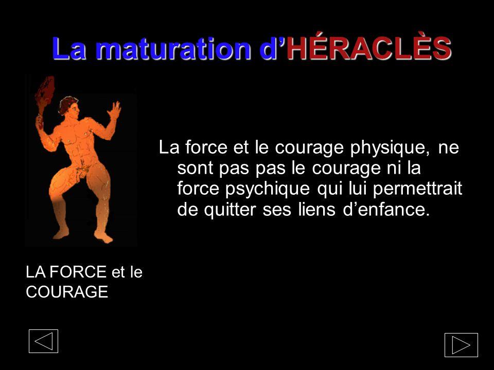 La maturation d'HÉRACLÈS