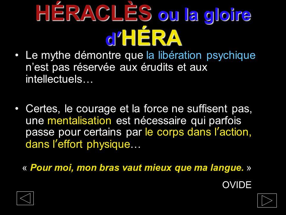 HÉRACLÈS ou la gloire d'HÉRA