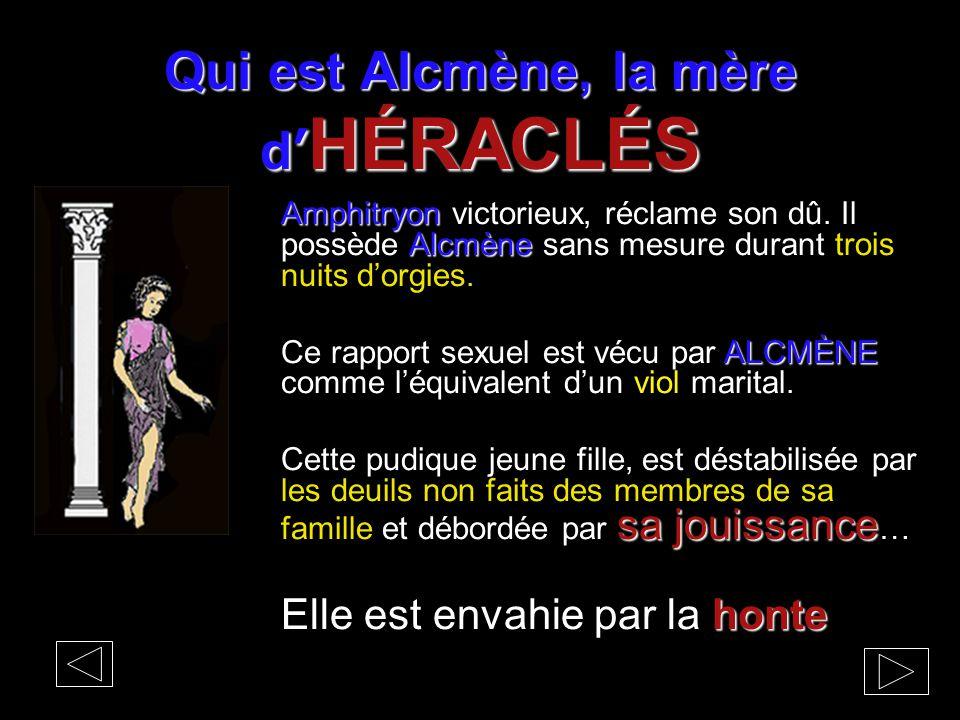Qui est Alcmène, la mère d'HÉRACLÉS