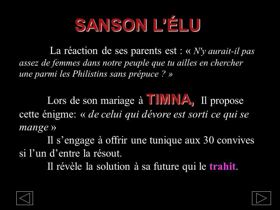 SANSON L'ÉLU