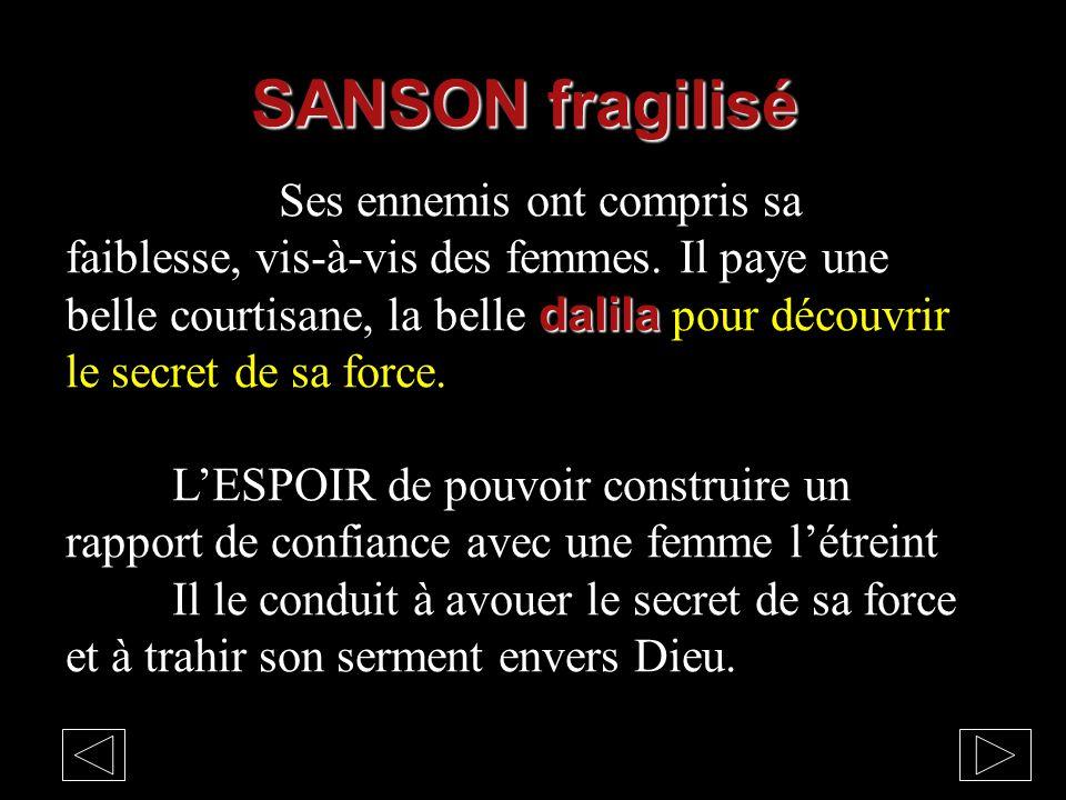SANSON fragilisé