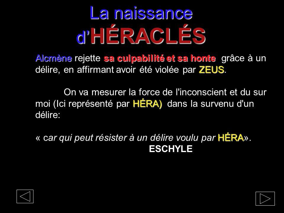 La naissance d'HÉRACLÉS