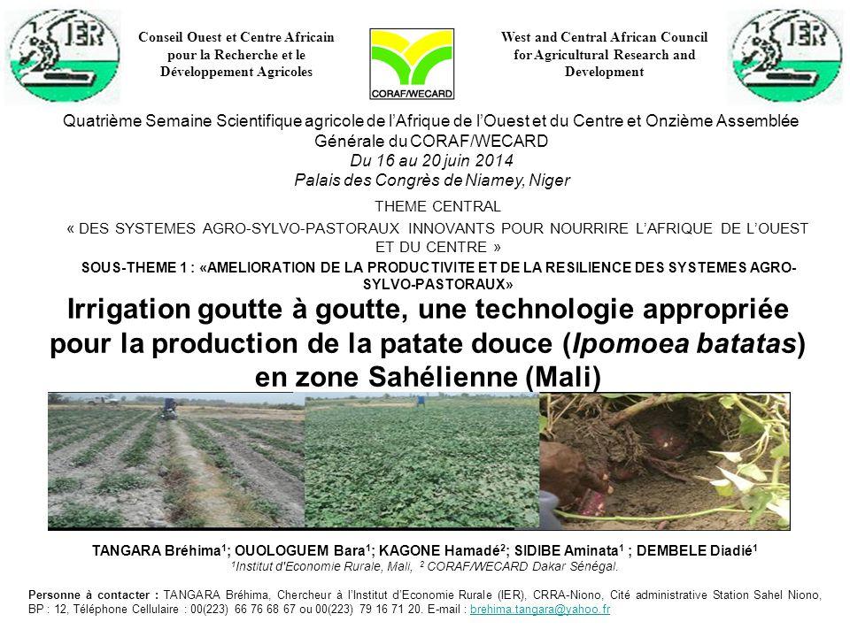 Conseil Ouest et Centre Africain pour la Recherche et le Développement Agricoles