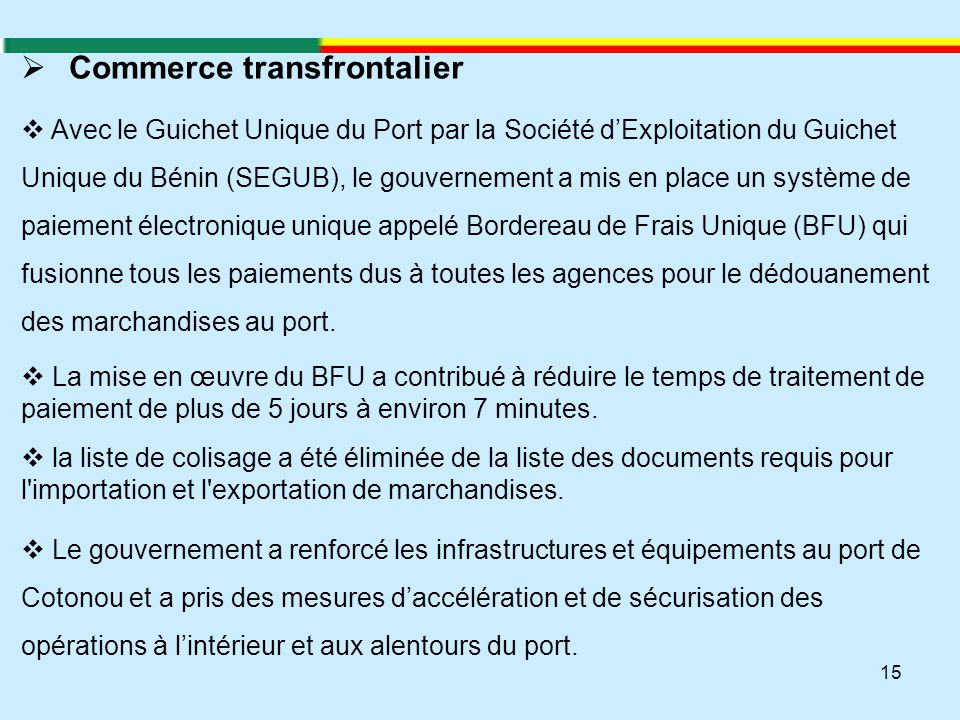 Commerce transfrontalier