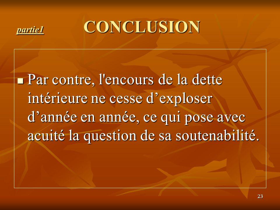 partie1 CONCLUSION