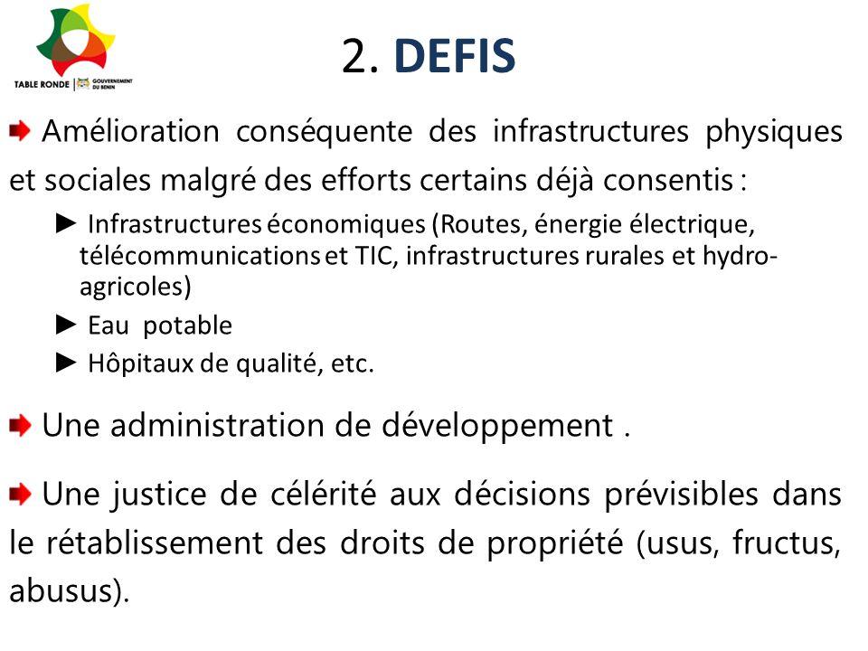 2. DEFIS Une administration de développement .