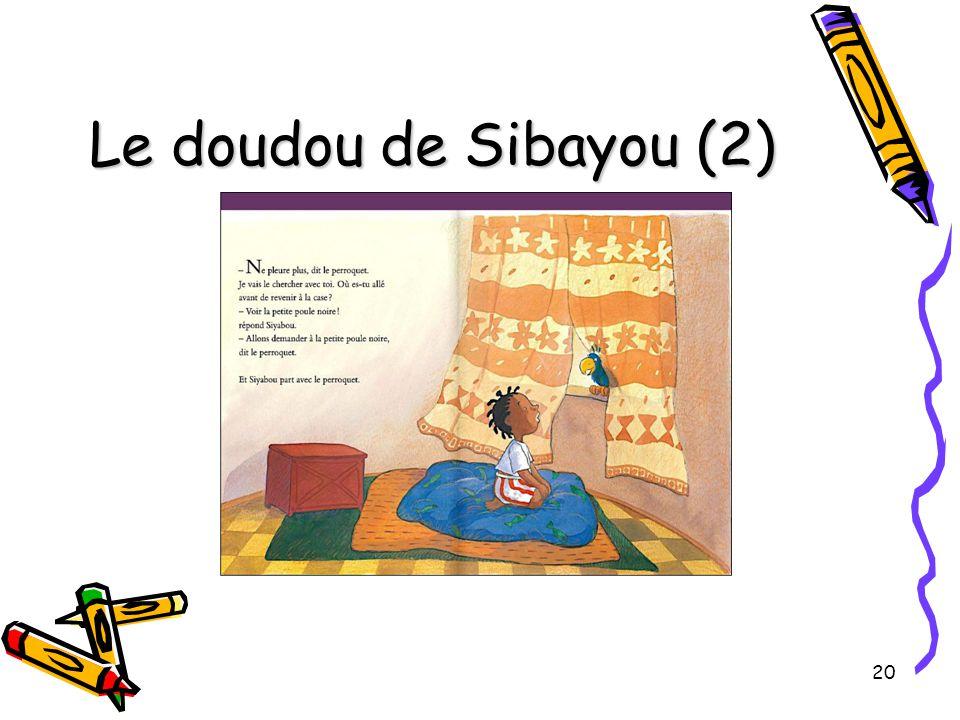 Le doudou de Sibayou (2)