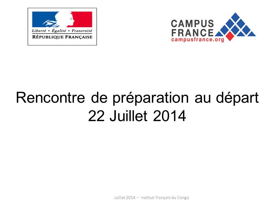 Rencontre de préparation au départ 22 Juillet 2014