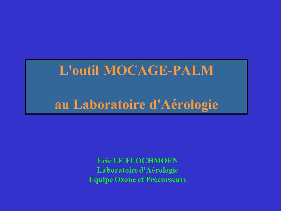 L outil MOCAGE-PALM au Laboratoire d Aérologie